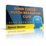 membercard inner circle dutch brainwash