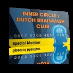 membercard inner circle dutch brainwash
